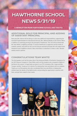 Hawthorne School News 5/31/19