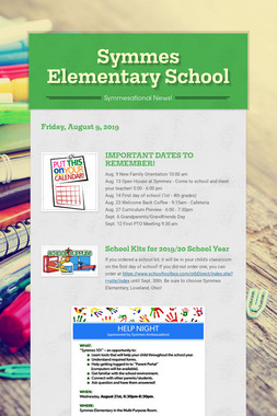 Symmes Elementary School