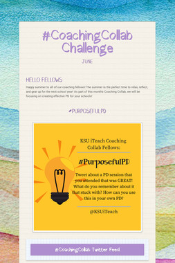 #CoachingCollab Challenge