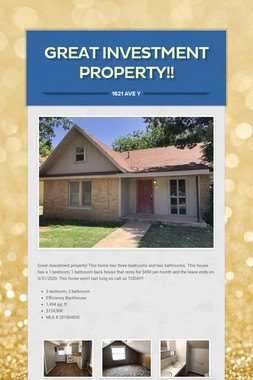 Great Investment Property!!