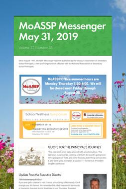 MoASSP Messenger May 31, 2019
