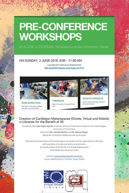 PRE-CONFERENCE WORKSHOPS
