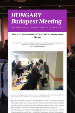 HUNGARY Budapest Meeting