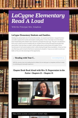 LaCygne Elementary Read A Loud