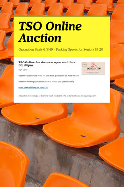 TSO Online Auction