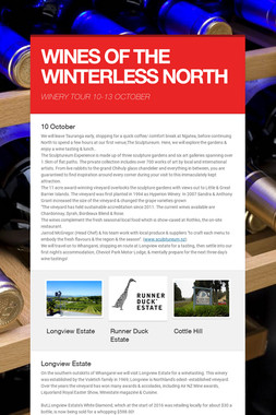 WINES OF THE WINTERLESS NORTH