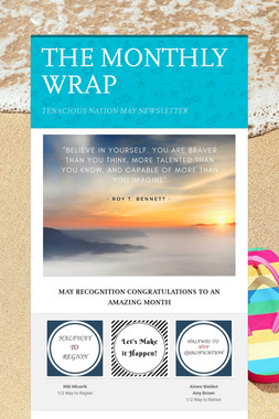 THE MONTHLY WRAP