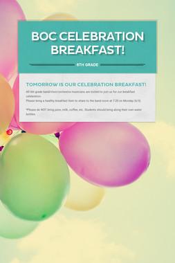 BOC Celebration Breakfast!
