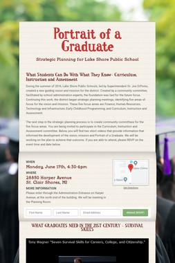 Portrait of a Graduate