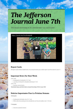 The Jefferson Journal June 7th