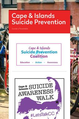 Cape & Islands Suicide Prevention