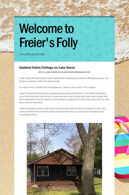 Welcome to Freier's Folly