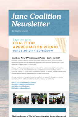 June Coalition Newsletter