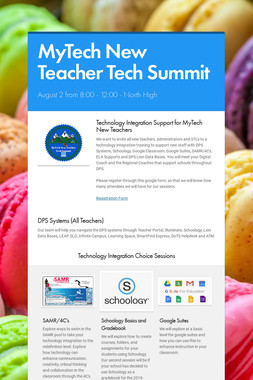 MyTech New Teacher Tech Summit