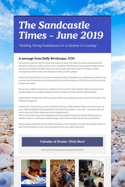 The Sandcastle Times - June 2019