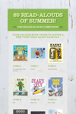89 Read-Alouds of Summer!
