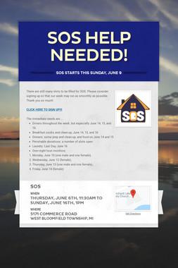 SOS Help Needed!