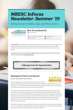 MRESC InFocus Newsletter-Summer '19
