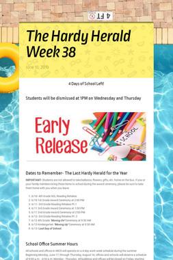 The Hardy Herald Week 38