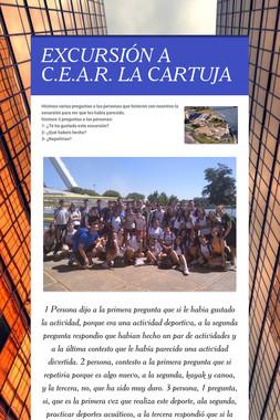 EXCURSIÓN A C.E.A.R. LA CARTUJA