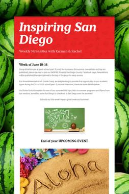 Inspiring         San Diego