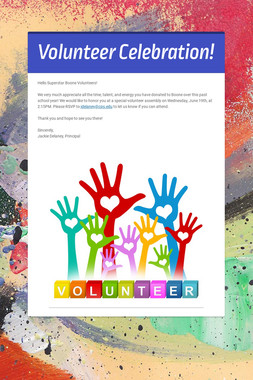 Volunteer Celebration!