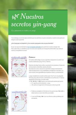 🌿 Nuestros secretos yin-yang