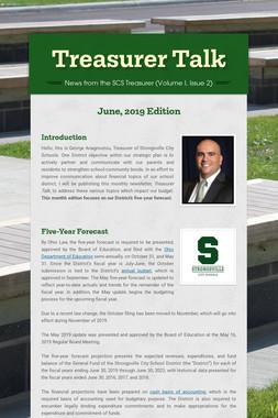 Treasurer Talk