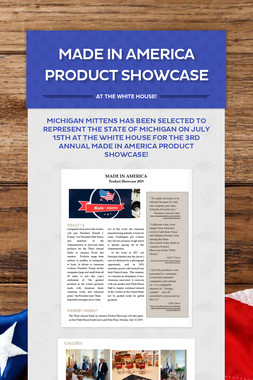 Made in America Product Showcase