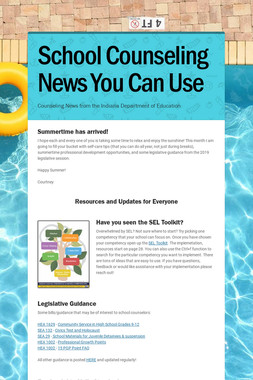 School Counseling News You Can Use
