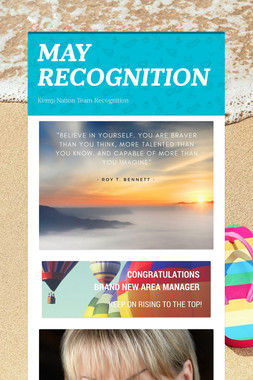 MAY RECOGNITION