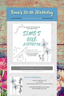 Simo's 50 th Birthday