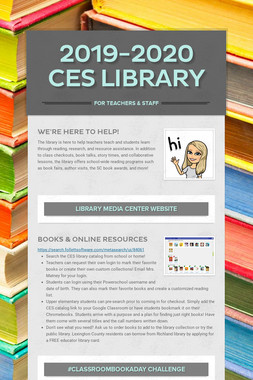 2019-2020 CES Library