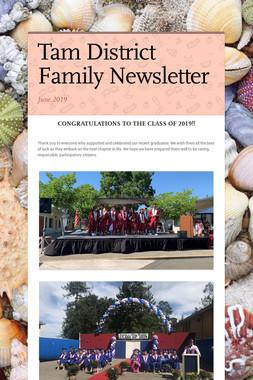 Tam District Family Newsletter