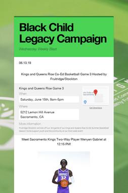 Black Child Legacy Campaign