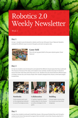 Robotics 2.0 Weekly Newsletter
