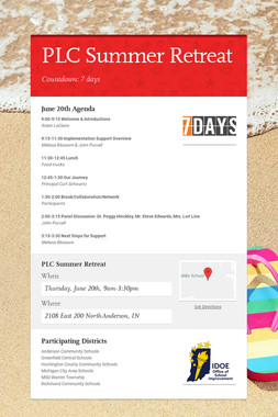 PLC Summer Retreat