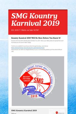 SMG Kountry Karnival 2019