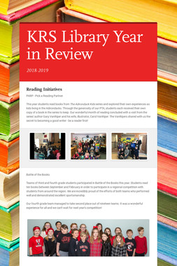 KRS Library Year in Review
