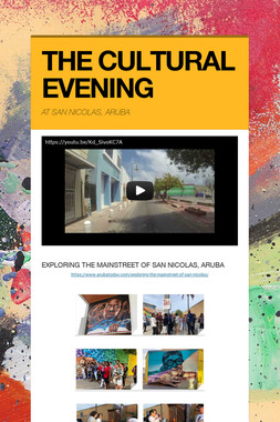 THE CULTURAL EVENING