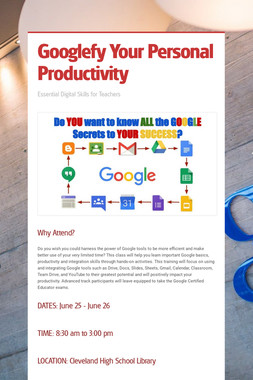 Googlefy Your Personal Productivity