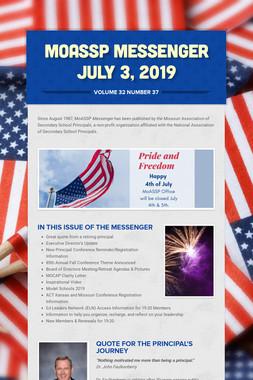 MoASSP Messenger July 3, 2019