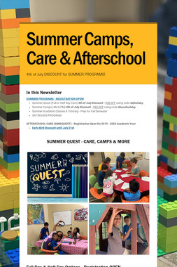 Summer Camps, Care & Afterschool