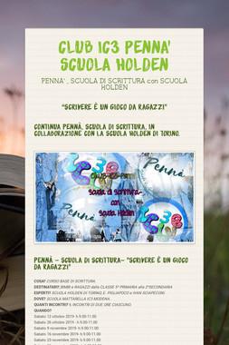 CLUB  IC3 PENNA'   SCUOLA HOLDEN