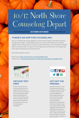 10/17 North Shore Counseling Depart