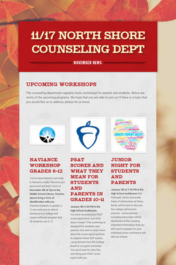 11/17 North Shore Counseling Dept