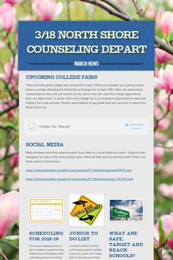 3/18 North Shore Counseling Depart