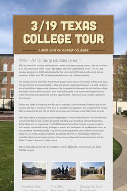 3/19 Texas College Tour