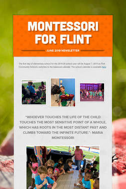 Montessori for Flint