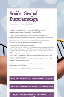 Sesión Grupal Bucaramanga